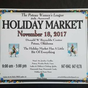 Holiday Market-Poteau Ok @ Donald W Reynolds Center | Poteau | Oklahoma | United States