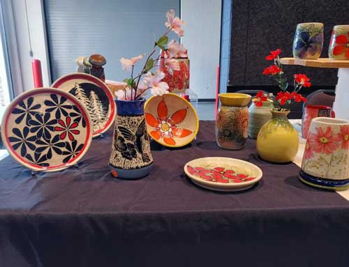 Art and craft Show table