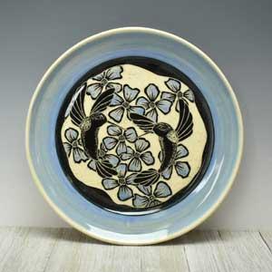 Hummingbird lover Pottery Plate