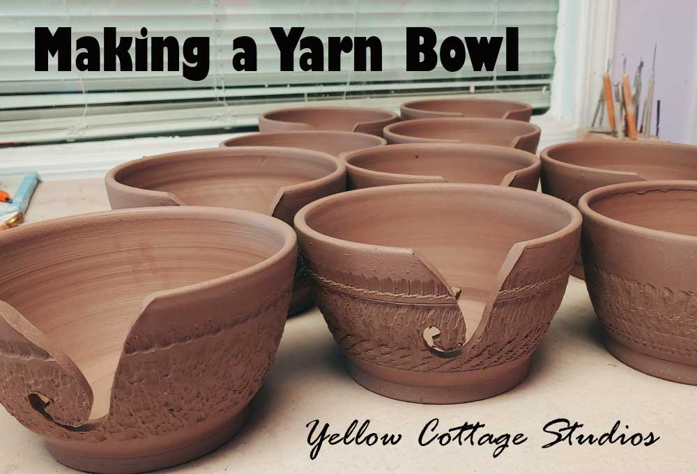 How to make a Ceramic Yarn Bowl – A Pottery Tutorial