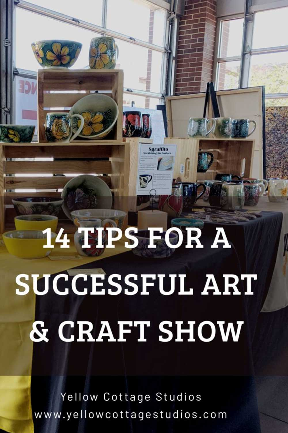 14 tips for a successful Art & Craft Show