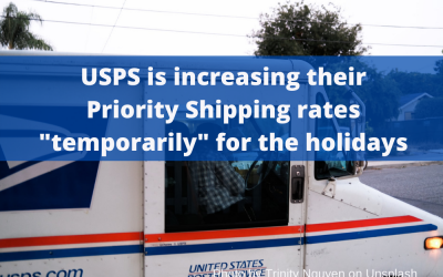 USPS Announces a Rate increase during the Holiday Season