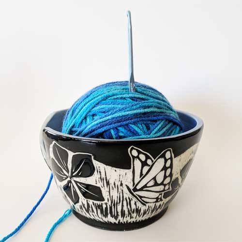 Yarn-Bowl-Butterfly-Sgrafitto