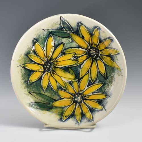 YellowFlowerPlate