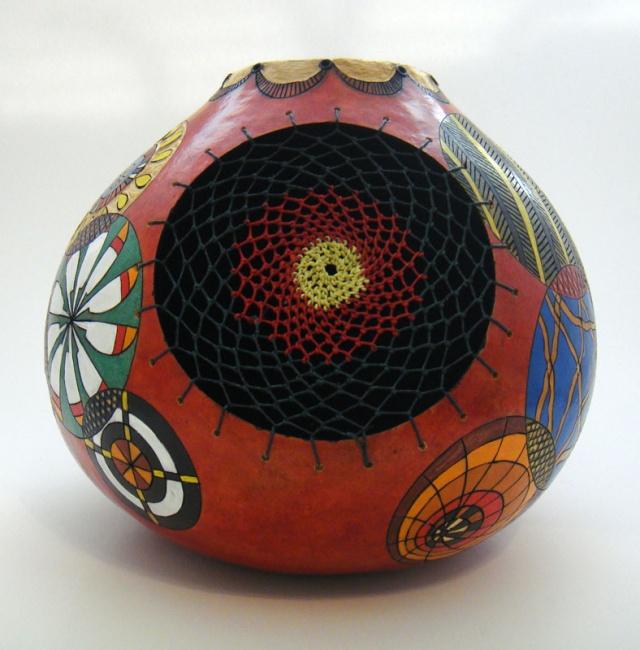 Doodle Gourd 3-SOLD