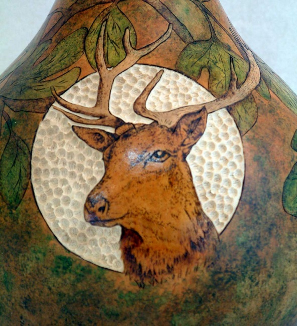 SOLD - Deer Head